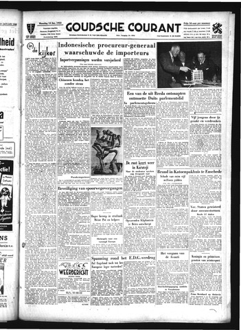 Goudsche Courant 1953-01-12