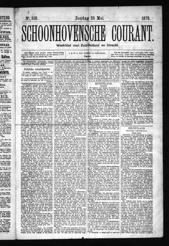 Schoonhovensche Courant 1879-05-25