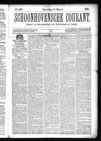 Schoonhovensche Courant 1894-03-10