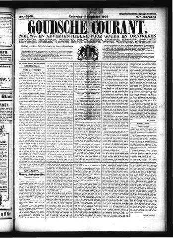 Goudsche Courant 1928-08-11