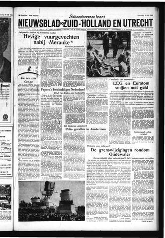 Schoonhovensche Courant 1962-07-25