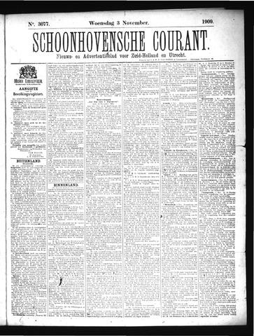 Schoonhovensche Courant 1909-11-03