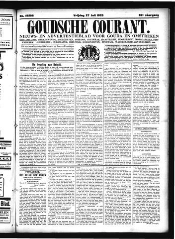 Goudsche Courant 1923-07-27