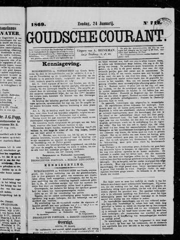 Goudsche Courant 1869-01-24