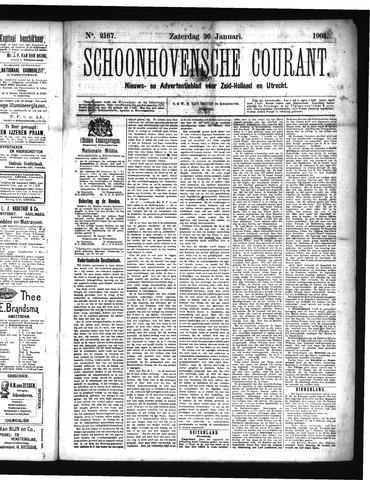 Schoonhovensche Courant 1901-01-26