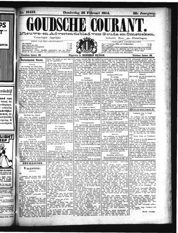 Goudsche Courant 1914-02-26