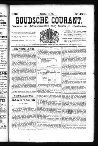 Goudsche Courant 1892-07-11