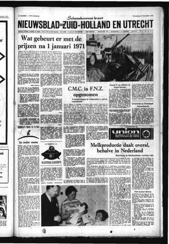 Schoonhovensche Courant 1970-12-23