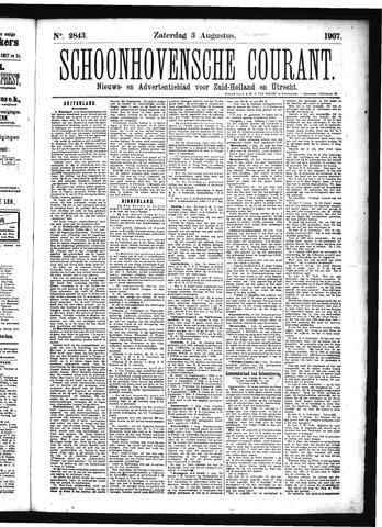 Schoonhovensche Courant 1907-08-03