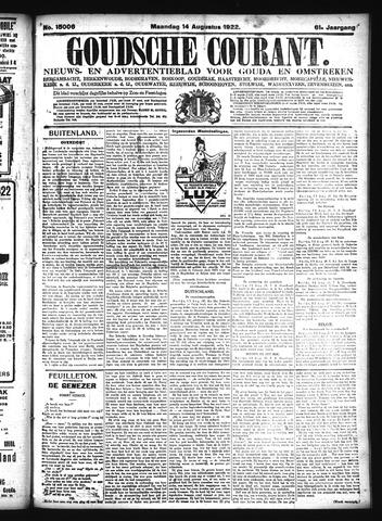 Goudsche Courant 1922-08-14
