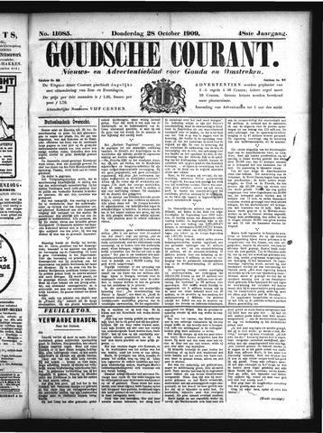 Goudsche Courant 1909-10-28
