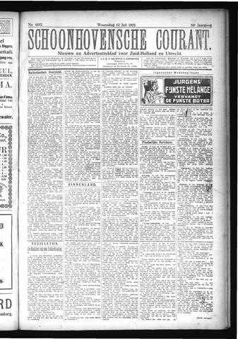 Schoonhovensche Courant 1922-07-12