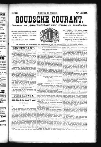 Goudsche Courant 1892-08-25