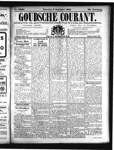 Goudsche Courant 1913-09-06