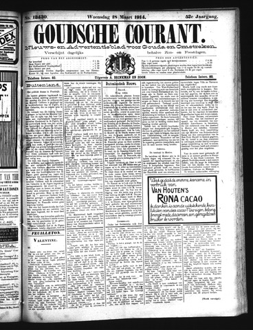 Goudsche Courant 1914-03-18