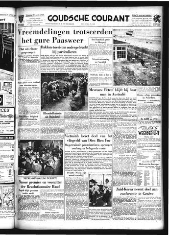 Goudsche Courant 1954-04-20