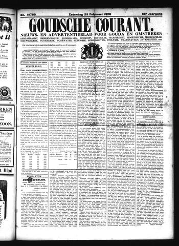 Goudsche Courant 1928-02-25
