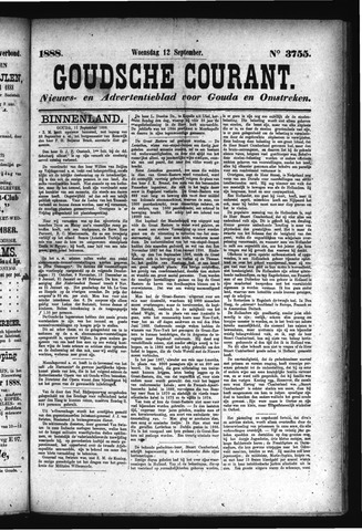 Goudsche Courant 1888-09-12