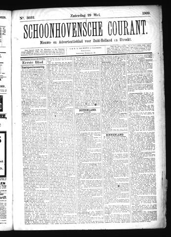 Schoonhovensche Courant 1909-05-29