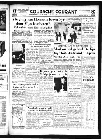 Goudsche Courant 1958-11-11