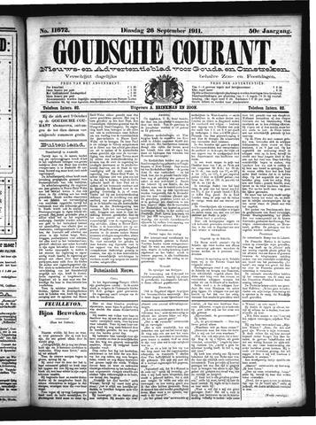 Goudsche Courant 1911-09-26
