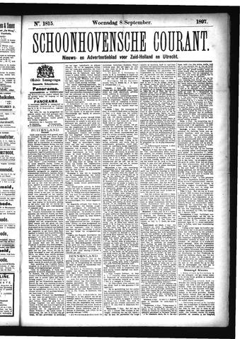 Schoonhovensche Courant 1897-09-08
