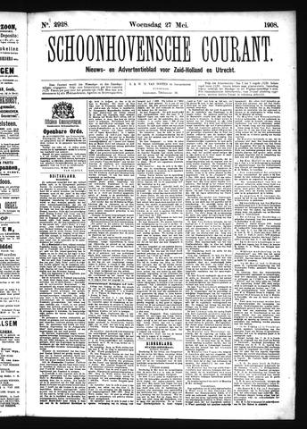 Schoonhovensche Courant 1908-05-27
