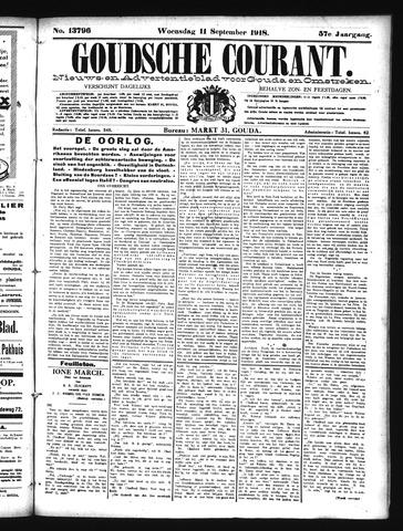 Goudsche Courant 1918-09-11