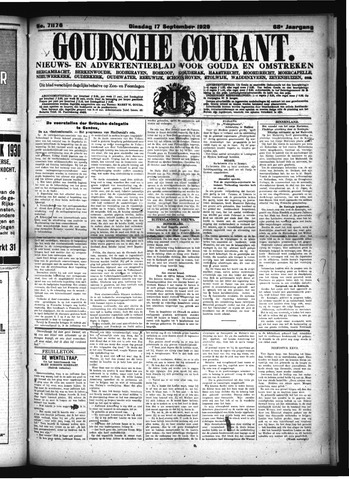 Goudsche Courant 1929-09-17