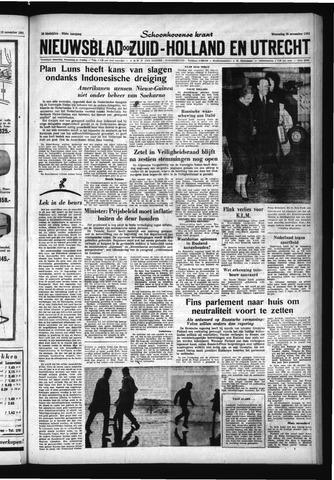Schoonhovensche Courant 1961-11-15