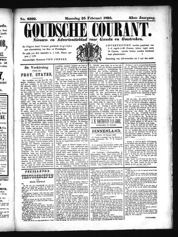 Goudsche Courant 1895-02-25