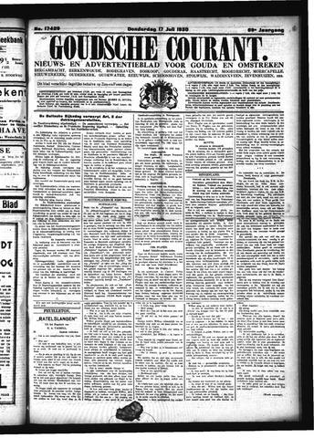 Goudsche Courant 1930-07-17
