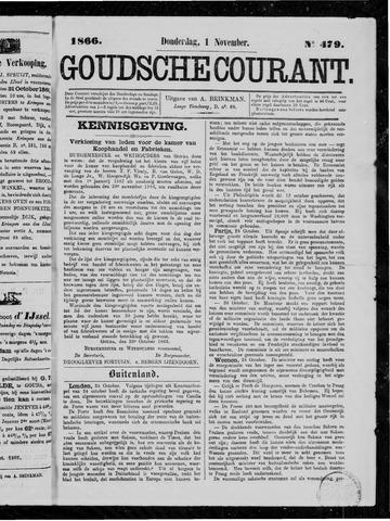 Goudsche Courant 1866-11-01