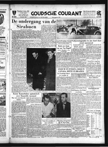 Goudsche Courant 1956-01-11