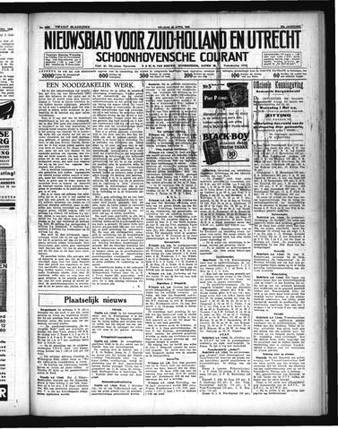 Schoonhovensche Courant 1935-04-26