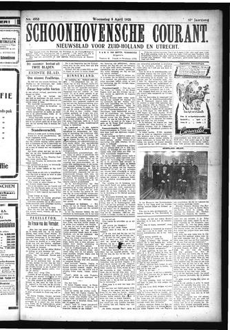 Schoonhovensche Courant 1925-04-08