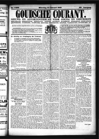 Goudsche Courant 1930-02-10