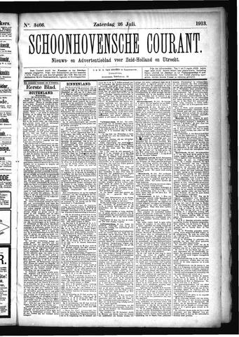 Schoonhovensche Courant 1913-07-26