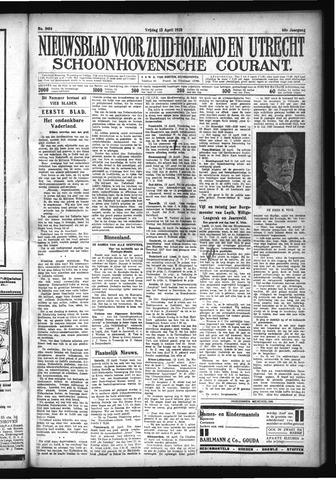 Schoonhovensche Courant 1928-04-13