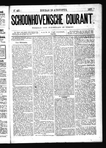 Schoonhovensche Courant 1877-08-19