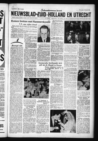 Schoonhovensche Courant 1961-02-15