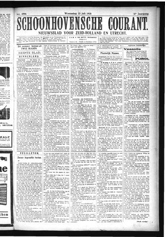 Schoonhovensche Courant 1925-07-22