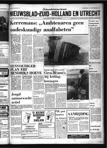 Schoonhovensche Courant 1974-09-18