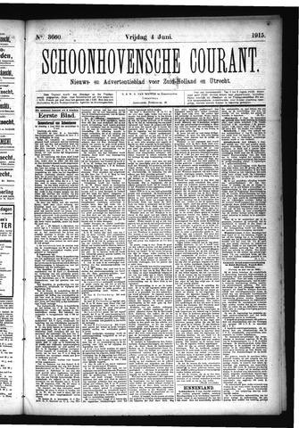 Schoonhovensche Courant 1915-06-04