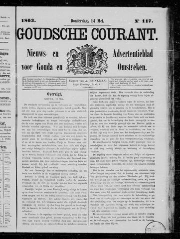 Goudsche Courant 1863-05-14
