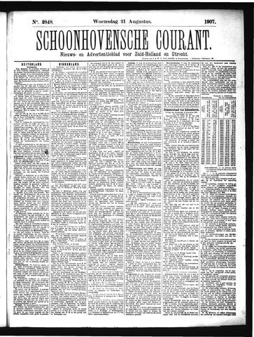Schoonhovensche Courant 1907-08-21