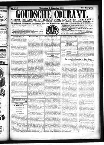 Goudsche Courant 1929-08-07