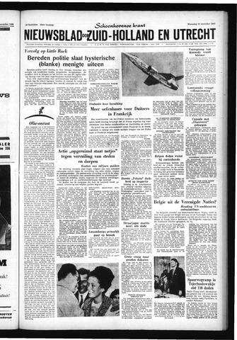 Schoonhovensche Courant 1960-11-16