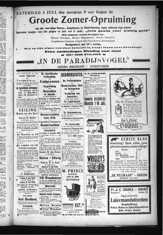 Schoonhovensche Courant 1926-07-03