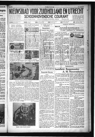 Schoonhovensche Courant 1932-06-17